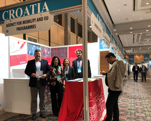 Sudjelovanje Veleučilišta Hrvatsko zagorje Krapina sajmu  visokog  obrazovanja  Eurasia higher education summit u Istanbulu u Turskoj.